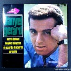 Discos de vinilo: DANIEL GERARD - ON S'EN BALANCE - EP 1964 - DISC AZ. Lote 256109515