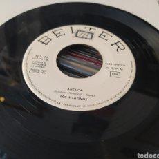 Discos de vinilo: LOS CINCO LATINOS–AMÉRICA / TU JUGUETE . SINGLE GENÉRICO 1964.. Lote 256130430