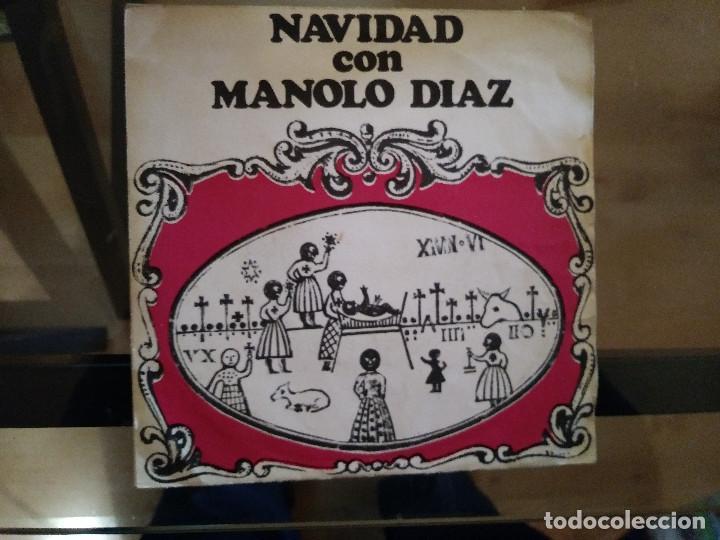 MANOLO DIAZ – NAVIDAD CON MANOLO DIAZ (Música - Discos - Singles Vinilo - Solistas Españoles de los 50 y 60)