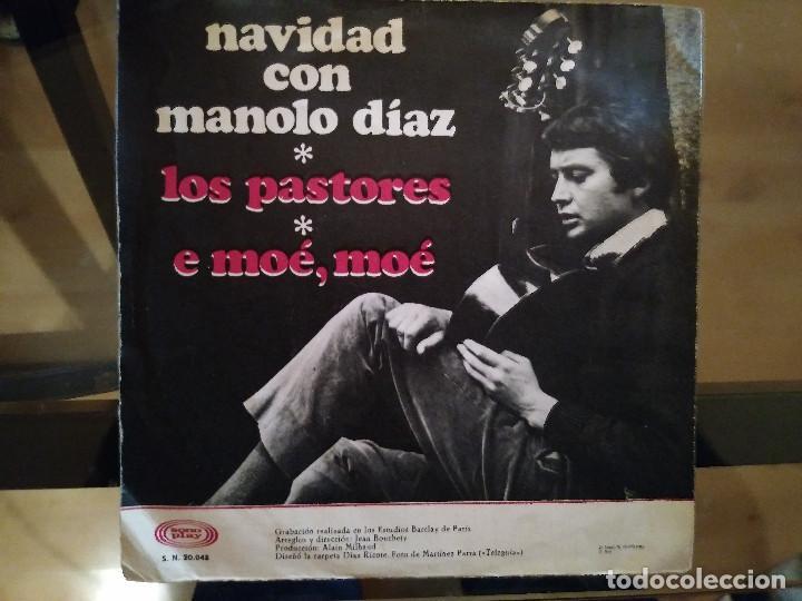 Discos de vinilo: Manolo Diaz – Navidad Con Manolo Diaz - Foto 2 - 256134975
