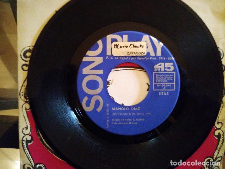 Discos de vinilo: Manolo Diaz – Navidad Con Manolo Diaz - Foto 4 - 256134975