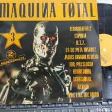 Discos de vinilo: MAQUINA TOTAL 3 DOBLE LP 1992 CARPETA DOBLE. Lote 256152155