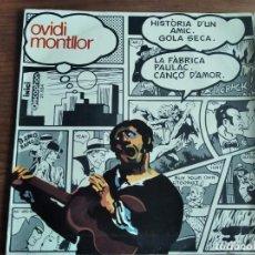 Discos de vinilo: OVIDI MONTLLOR - HISTÒRIA D'UN AMIC + 3 **** RARO EP 1969 ART COVER PORTADA EQUIPO CRÓNICA. Lote 256157025
