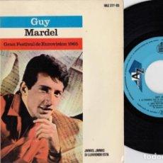 Discos de vinilo: GUY MARDEL - N'AVOUE JAMAIS + 3 - EP DE VINILO EDICION ESPAÑOLA. Lote 256166135