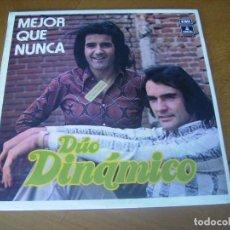 Discos de vinilo: LP : DUO DINAMICO - MEJOR QUE NUNCA / 1973 PROMO EX. Lote 256166190