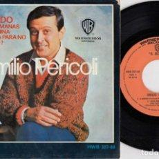 Discos de vinilo: EMILIO PERICOLI - IL MONDO + 3 - EP DE VINILO EDICION ESPAÑOLA. Lote 256166355