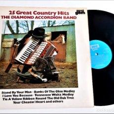 Discos de vinilo: VINILO COUNTRY HITS. Lote 256933335