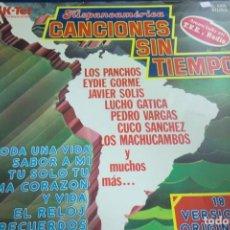 Discos de vinil: LP HISPANOAMÉRICA. CANCIONES SIN TIEMPO. LOS PANCHOS, EYDIE GORME, JAVIER SOLIS.... Lote 257151480