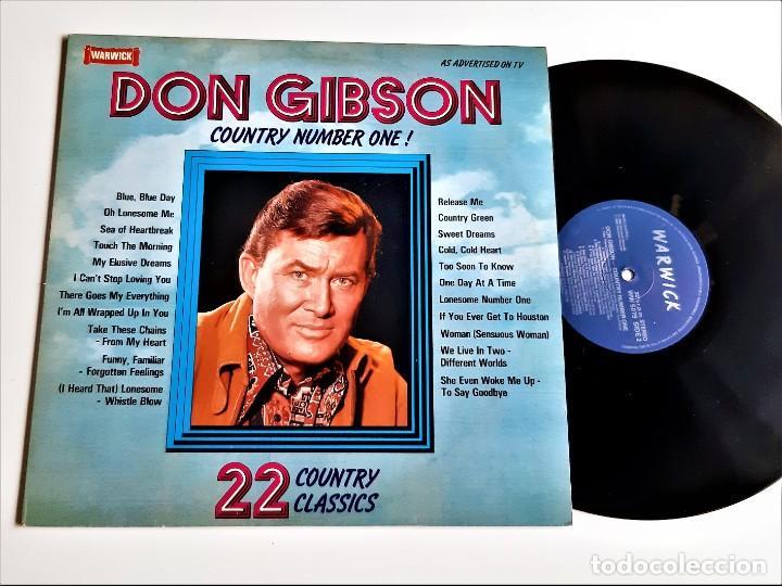 VINILO DON GIBSON (Música - Discos - LP Vinilo - Otros estilos)