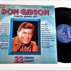 Discos de vinilo: VINILO DON GIBSON. Lote 257270470