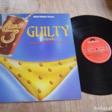 Discos de vinilo: GUILTY. -SPECIAL NEW CLUB MIX AUGUST 83- 1983. PROBADO.. Lote 257271830