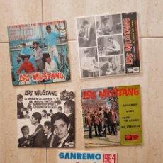 Discos de vinilo: LOS MUSTANG BEATLES SPSIN LOTE EN OFERTA DE 5 EPS OPORTUNIDAD COLECCIONISTAS. Lote 257275555
