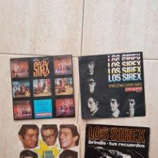 Discos de vinilo: LOS SIREX BEATLES SPAIN LOTE 4 VINILOS OFERTA COLECCIONISTAS OPORTUNIDAD. Lote 257276010