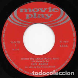 Discos de vinilo: LUIS AGUILE - EL FRESCALES - Foto 4 - 257277200