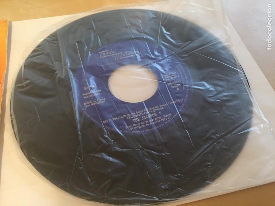 "Discos de vinilo: The Jackson 5 - Get It Together - SINGLE 7"" - 1974 Tamla Motown SPAIN - Foto 2 - 257277680"