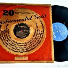 Discos de vinilo: VINILO INSTRUMENTAL GOLD. Lote 257279125