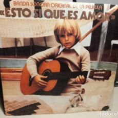 Discos de vinilo: SG GRUPO NINS : ESTO SI QUE ES AMOR ( BANDA SONORA ORIGINAL DE LA PELICULA ). Lote 257286210