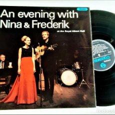 Discos de vinilo: VINILO AN EVENING WITH NINA & FREDERIK. Lote 257290260