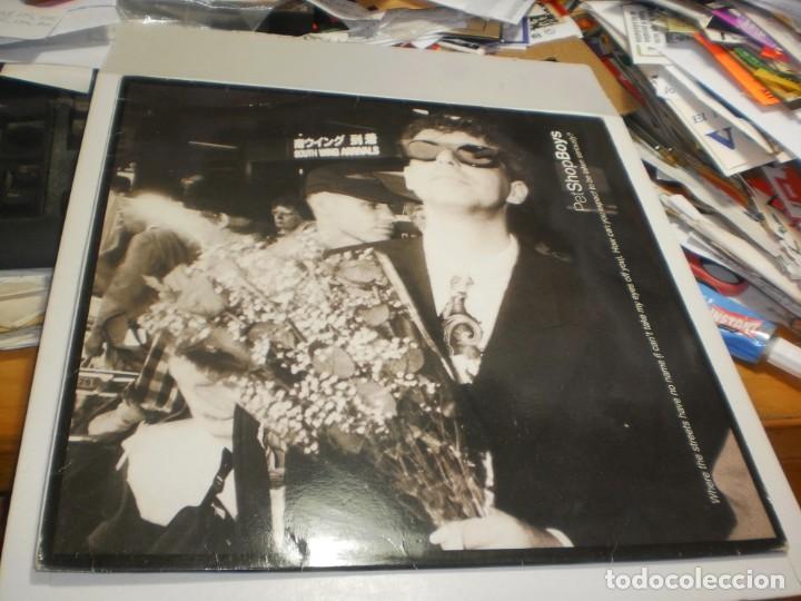 MAXI SINGLE PET SHOP BOYS. PARLOPHONE 1991 SPAIN (PROBADO, BIEN, BUEN ESTADO) (Música - Discos de Vinilo - Maxi Singles - Pop - Rock Internacional de los 90 a la actualidad)