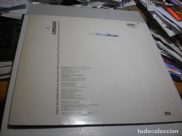 Discos de vinilo: maxi single pet shop boys. parlophone 1991 spain (probado, bien, buen estado) - Foto 2 - 257291005