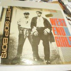 Discos de vinilo: MAXI SINGLE PET SHOP BOYS. WEST END GIRLS. EMI 1985 SPAIN (PROBADO, BIEN, BUEN ESTADO, LEER). Lote 257291950