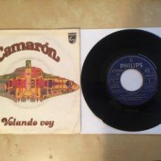 """Discos de vinilo: CAMARON - VOLANDO VOY - SINGLE RADIO 7"""" - 1979 PHILIPS SPAIN. Lote 257293830"""