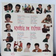 Discos de vinilo: RECITAL DE EXITOS. LA VOZ DE SU AMO. 1963. ESP. VARIOS. LOS MUSTANG, D. DINAMICO, J. GUARDIOLA,,,. Lote 257299015