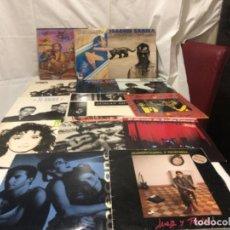 Discos de vinilo: LOTE DE 14 DISCOS MÚSICA ESPAÑOLA AÑOS 90. Lote 257302320