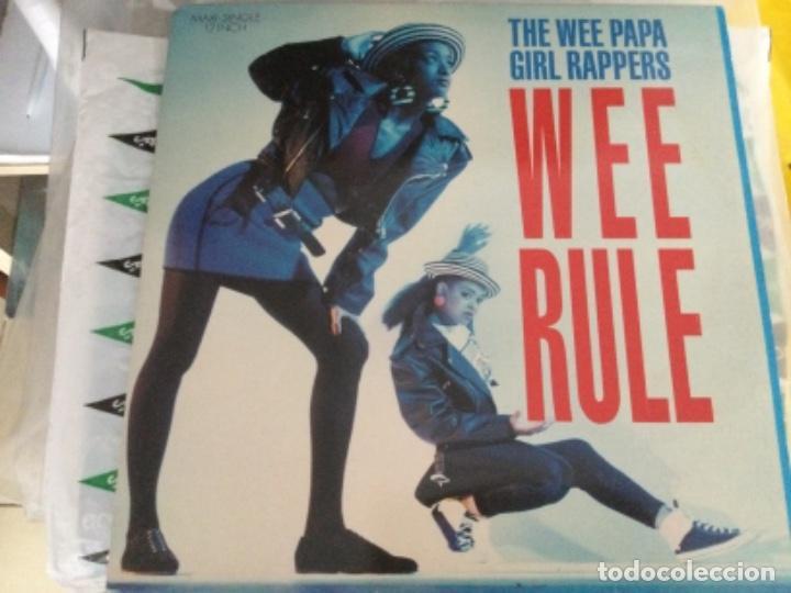 THE WEE PAPA GIRL RAPPERS - WEE RULE (Música - Discos de Vinilo - Maxi Singles - Rap / Hip Hop)