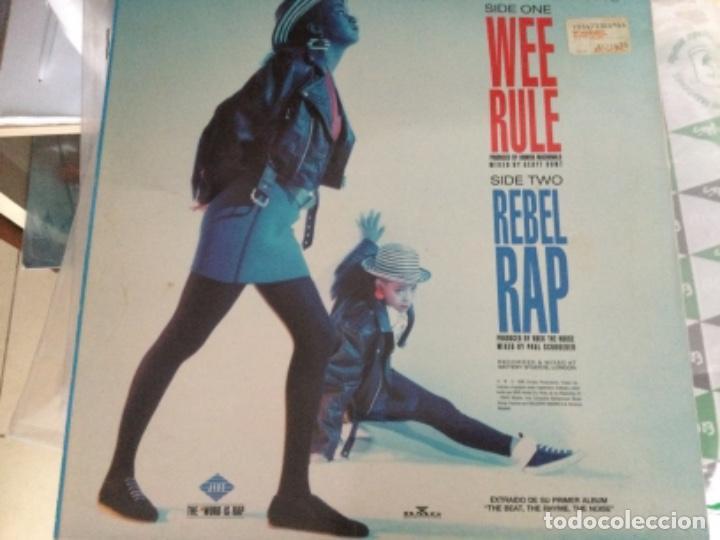 Discos de vinilo: The wee papa girl rappers - wee rule - Foto 2 - 257302510