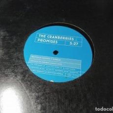 Discos de vinilo: MAXI - THE CRANBERRIES – PROMISES - 12 CRAN 1 ( VG+ / VG+) UK 1999 PROMO - RARUNO. Lote 257303975