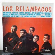 Discos de vinilo: LOS RELAMPAGOS. NOVOLA. 1965. ESP. NL-1.003. Lote 257305710
