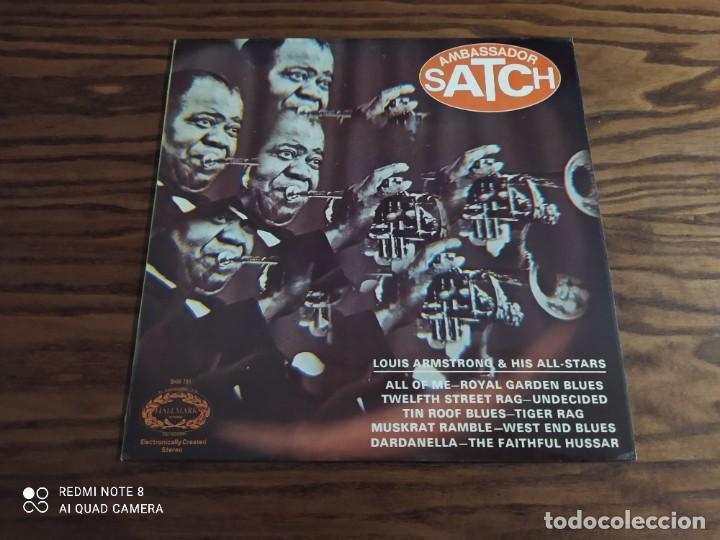DISCO LP DE VINILO LOUIS ARMSTRONG & HIS ALL-STARS, AMBASSADOR SATCH (JAZZ, BLUES) (Música - Discos - LP Vinilo - Jazz, Jazz-Rock, Blues y R&B)