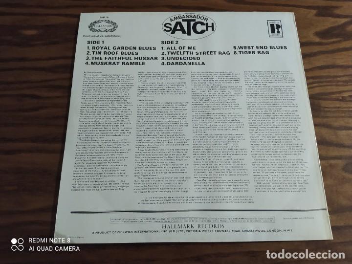 Discos de vinilo: Disco LP de vinilo Louis Armstrong & his all-stars, Ambassador Satch (jazz, blues) - Foto 2 - 257313055