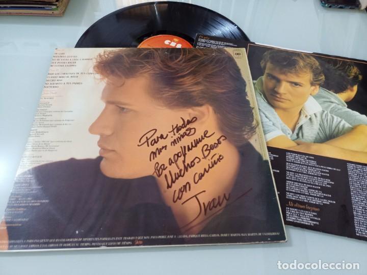 IVAN - TIEMPO DE IVAN .. LP DE CBS - 1982 + ENCARTE CON LETRAS EDICION FIRMADA Y DEDICADA (Música - Discos - LP Vinilo - Solistas Españoles de los 70 a la actualidad)