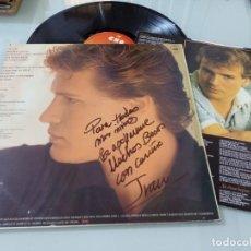 Discos de vinilo: IVAN - TIEMPO DE IVAN .. LP DE CBS - 1982 + ENCARTE CON LETRAS EDICION FIRMADA Y DEDICADA. Lote 257313545