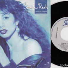 Discos de vinilo: JENNIFER RUSH - VIDA DE MI VIDA - SINGLE DE VINILO EDICION ESPAÑOLA CANTADO EN ESPAÑOL #. Lote 257316985