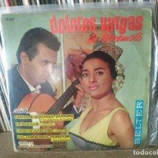 Discos de vinilo: DOLORES VARGAS LA TERREMOTO EP BELTER 1962 CANTO A DOLORES VARGAS/ LA POLILLA/ GRACIA Y TACON +1. Lote 257317540