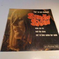 Discos de vinilo: SINGLE DISCO VINILO SANDIE SHAW. Lote 257317885