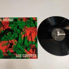 Discos de vinilo: 0421- LOS COYOTES EL MONO MAXI SINGLE 1984 SPAIN VINILO POR VG+ DIS G+. Lote 257321530