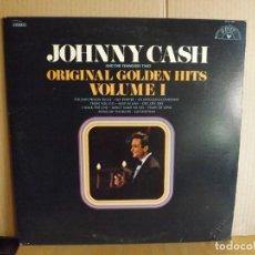 Discos de vinilo: JOHNNY CASH --- ORIGINAL GOLDEN HITS VOLUME 1. Lote 257322835