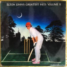 Discos de vinilo: ELTON JOHN – GREATEST HITS VOLUME II. Lote 257322950