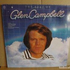 Discos de vinilo: GLEN CAMPBELL --- THE BEST OF. Lote 257325220