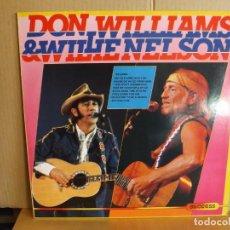 Discos de vinilo: DON WILLIAMS & WILLIE NELSON --- SAME. Lote 257325685