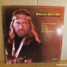 Discos de vinilo: WILLIE NELSON ---- 20 OF THE BEST. Lote 257326020