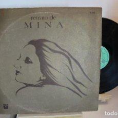 Discos de vinilo: MINA - RETRATO DE MINA - VINILO LP ARGENTINO - 1976 - MB / EXC. Lote 257326690