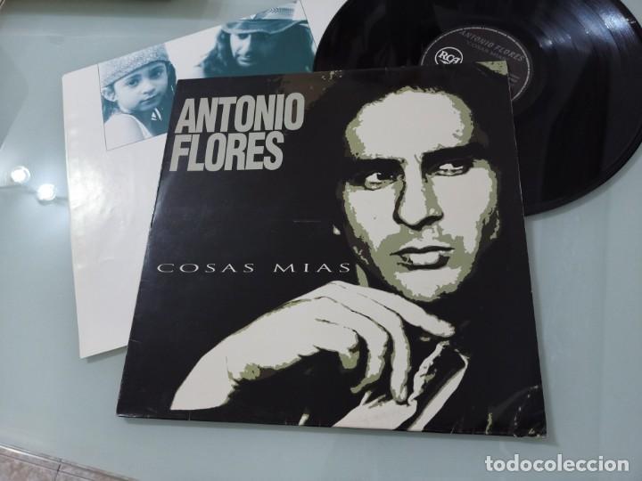 ANTONIO FLORES - COSAS MIAS ..LP DE RCA - 1994 - CON LETRAS..SU OBRA MAESTRA - EDICION ORIGINAL 1994 (Música - Discos - LP Vinilo - Solistas Españoles de los 70 a la actualidad)