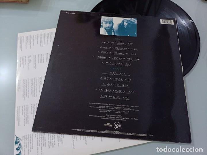 Discos de vinilo: ANTONIO FLORES - COSAS MIAS ..LP DE RCA - 1994 - CON LETRAS..SU OBRA MAESTRA - EDICION ORIGINAL 1994 - Foto 2 - 257326825