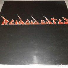 Discos de vinilo: REINCIDENTES-SU PRIMER LP-PRIMERA EDICIÓN TRILITA ORIGINAL 1989-CONTIENE FOLLETO PROMOCIONAL-RARO. Lote 257328785