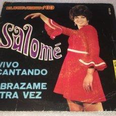 Discos de vinilo: SINGLE SALOME EUROVISION 69 - VIVO CANTANDO - ABRAZAME OTRA VEZ - BELTER 07.536 -PEDIDO MINIMO 7€. Lote 257329705